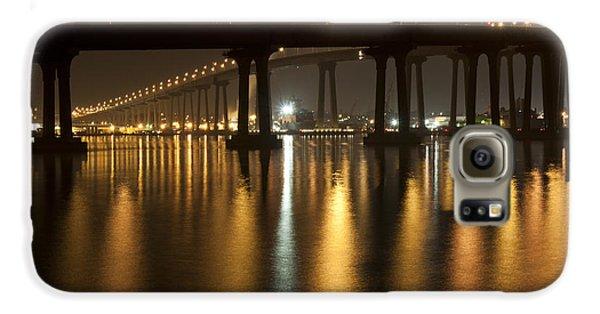 Coronado Bridge At Night Galaxy S6 Case by Nathan Rupert