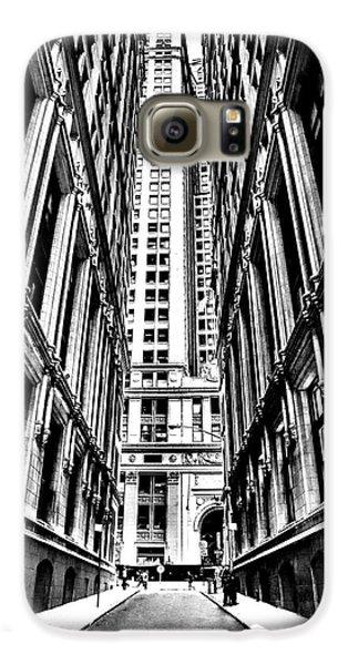 Broadway Galaxy S6 Case - Corporatocracy by Az Jackson