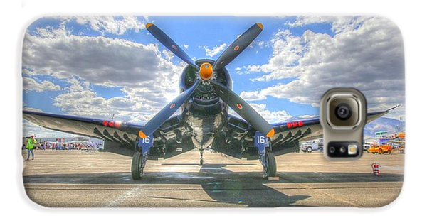 Corsair On The Flight Line At Reno Air Races Galaxy S6 Case