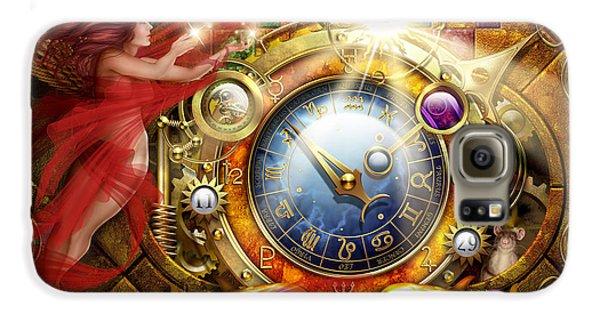 Cosmic Clock Galaxy S6 Case by Ciro Marchetti