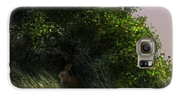 Rabbit Galaxy S6 Case - Cottontail by Aaron Blaise