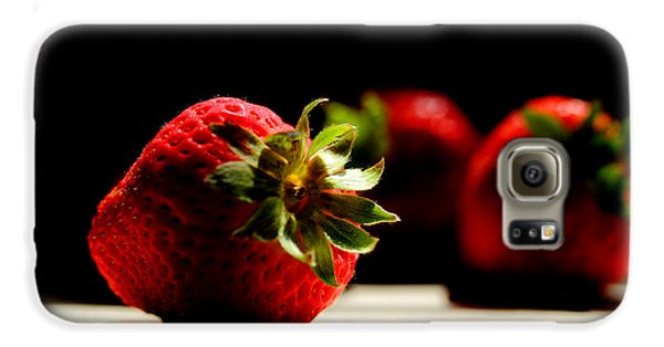 Strawberry Galaxy S6 Case - Countertop Strawberries by Michael Eingle