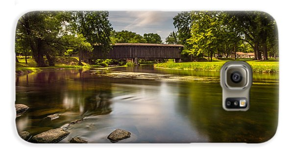 Covered Bridge Long Exposure Galaxy S6 Case