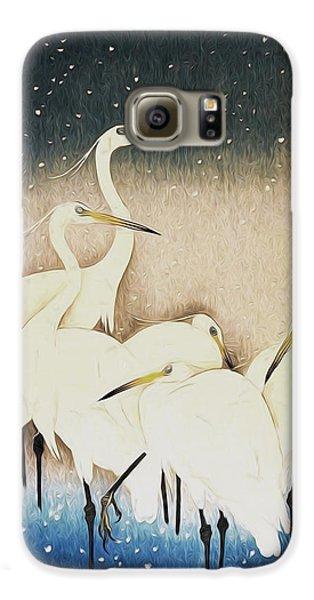 Cranes  Galaxy S6 Case by Shanina Conway
