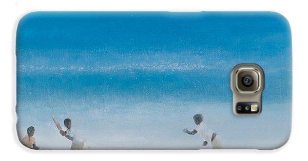 Cricket On The Beach, 2012 Acrylic On Canvas Galaxy S6 Case