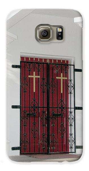 Key West Church Doors Galaxy S6 Case
