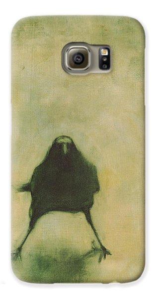 Crow Galaxy S6 Case - Crow 6 by David Ladmore