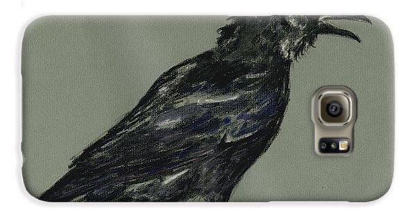 Crow Galaxy S6 Case - Crow by Juan  Bosco