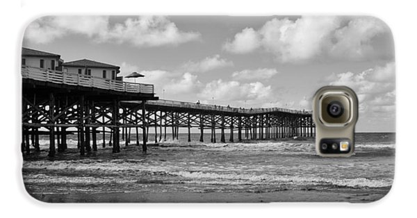 Crystal Pier In Pacific Beach Galaxy S6 Case by Ana V Ramirez
