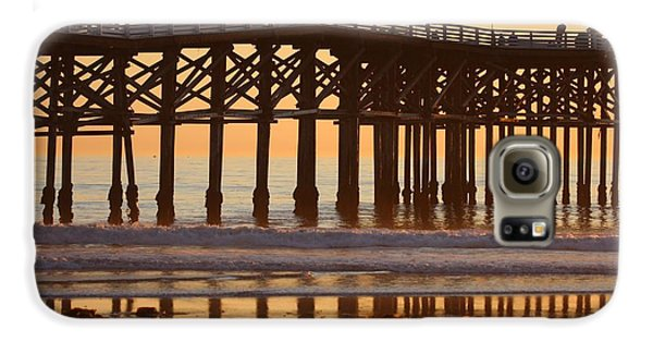 Crystal Pier Galaxy S6 Case by Nathan Rupert