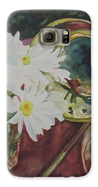 Trombone Galaxy S6 Case - Daisies Bold As Brass by Jenny Armitage