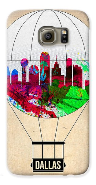Dallas Air Balloon Galaxy S6 Case by Naxart Studio