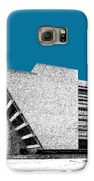 Dallas Skyline City Hall - Steel Galaxy S6 Case by DB Artist