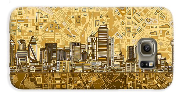 Dallas Skyline Abstract 6 Galaxy S6 Case