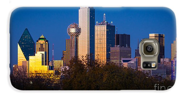 Dallas Skyline Galaxy S6 Case by Inge Johnsson