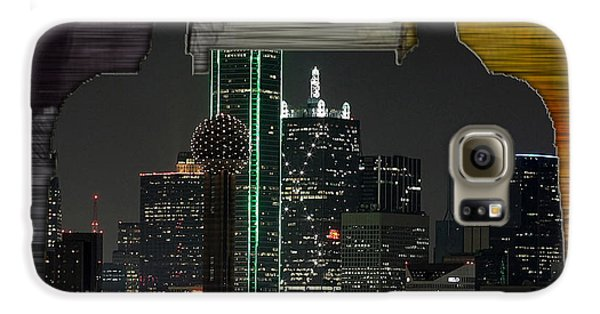 Dallas Texas Skyline In A Purse Galaxy S6 Case