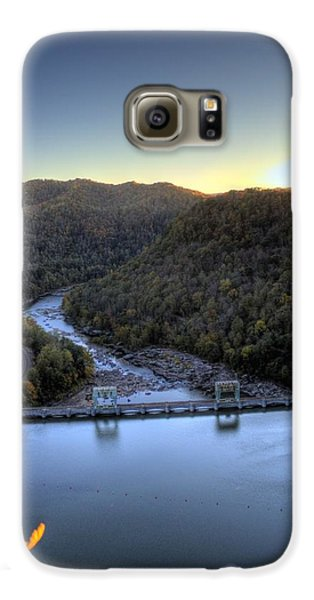 Galaxy S6 Case featuring the photograph Dam Across The River by Jonny D