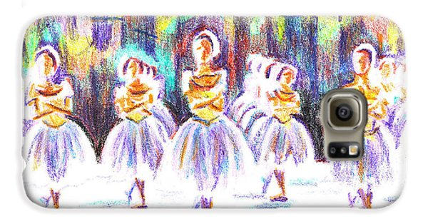 Dancers In The Forest II Galaxy S6 Case