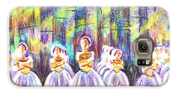 Dancers In The Forest Galaxy S6 Case