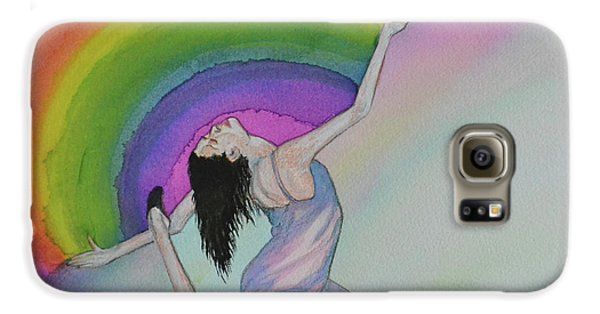Dancing In Rainbows Galaxy S6 Case