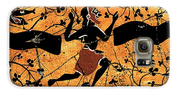 Bogdanoff Galaxy S6 Case - Dancing Man - Study No. 1 by Steve Bogdanoff