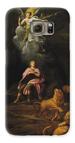 Dungeon Galaxy S6 Case - Daniel In The Den Of Lions Oil On Canvas by Francois Verdier