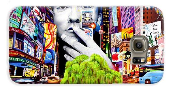 City Scenes Galaxy S6 Case - Dave Matthews Dreaming Tree by Joshua Morton