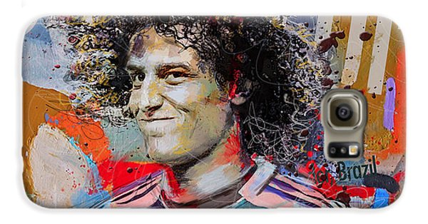 David Luiz Galaxy S6 Case by Corporate Art Task Force