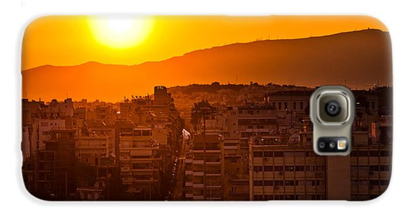 Dawn Over Athens Galaxy S6 Case