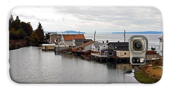 Day Island Bridge View 1 Galaxy S6 Case