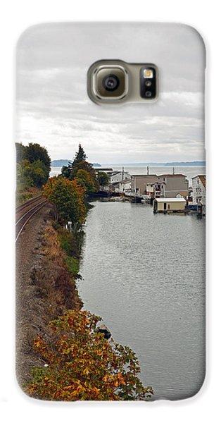 Day Island Bridge View 2 Galaxy S6 Case
