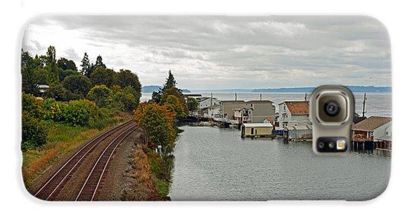 Day Island Bridge View 3 Galaxy S6 Case
