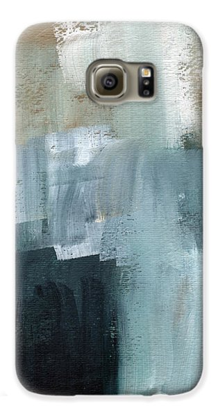 Days Like This - Abstract Painting Galaxy S6 Case by Linda Woods