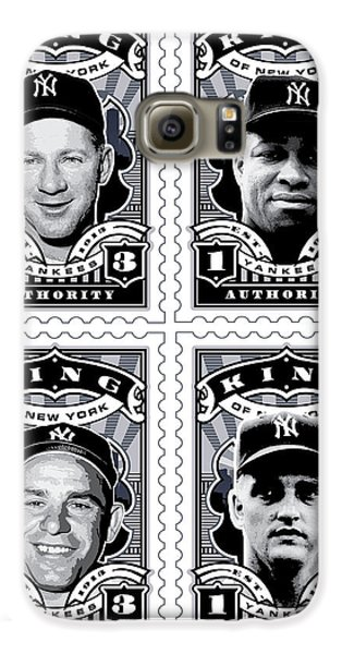 Dcla Kings Of New York Combo Stamp Artwork 2 Galaxy S6 Case by David Cook Los Angeles