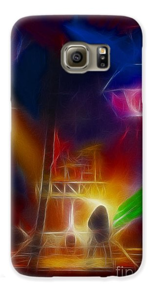 Def Leppard-adrenalize-gf10-fractal Galaxy S6 Case by Gary Gingrich Galleries