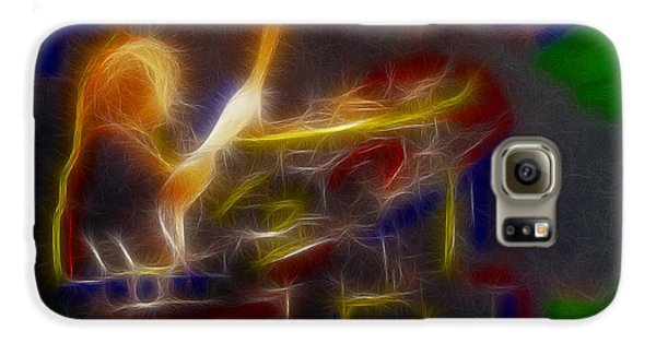 Def Leppard-adrenalize-gf24-ricka-fractal Galaxy S6 Case by Gary Gingrich Galleries