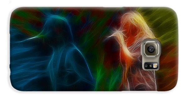 Def Leppard-adrenalize-jor-gb20--fractal Galaxy S6 Case