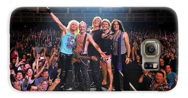 Def Leppard - Viva! Hysteria At The Hard Rock 2013 Galaxy S6 Case by Epic Rights