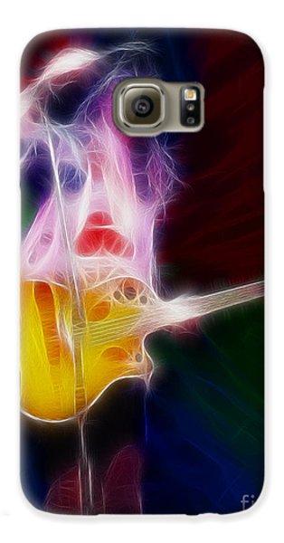 Deff Leppard-adrenalize-joe-gf25-fractal Galaxy S6 Case