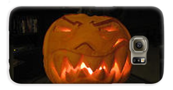 Demented Mister Ullman Pumpkin 2 Galaxy S6 Case