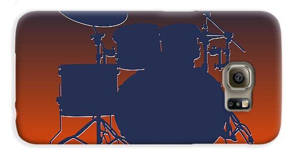 Denver Broncos Drum Set Galaxy S6 Case by Joe Hamilton