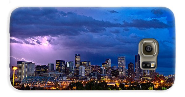 Denver Skyline Galaxy S6 Case by John K Sampson