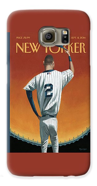 Derek Jeter Bows Galaxy S6 Case