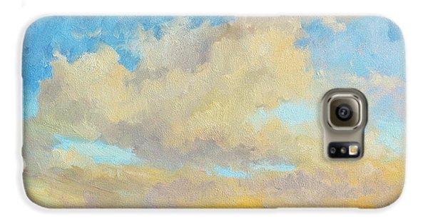 Mountain Sunset Galaxy S6 Case - Desert Clouds by Diane McClary