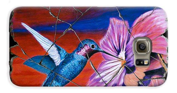 Desert Hummingbird Galaxy S6 Case