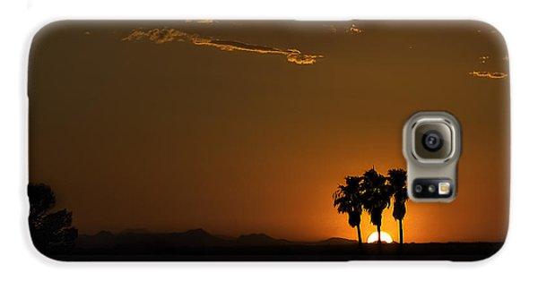 Desert Sunset Galaxy S6 Case