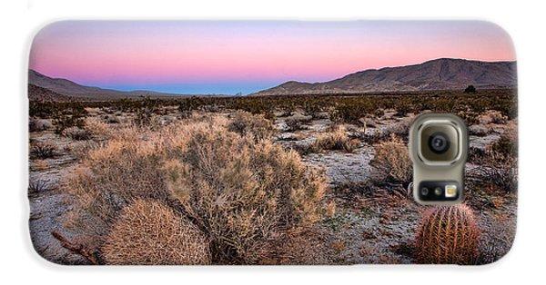 Desert Galaxy S6 Case - Desert Twilight by Peter Tellone