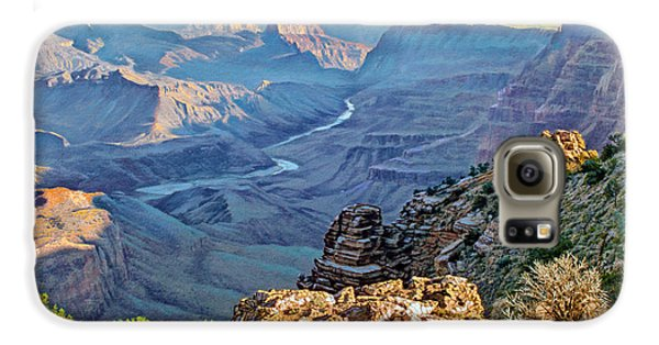 Desert View-morning Galaxy S6 Case by Paul Krapf
