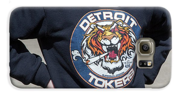 Detroit Tokers Galaxy S6 Case by Jim West