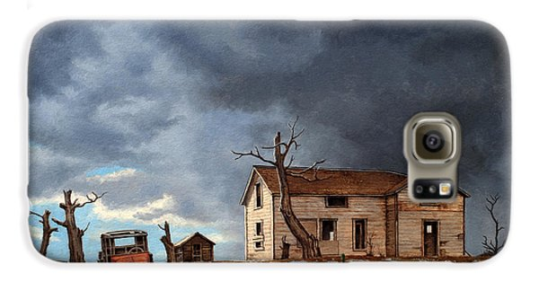 Truck Galaxy S6 Case - Different Day At The Homestead by Paul Krapf